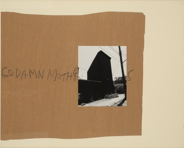 , 'Goddamn Mothers ,' 1989, Casemore Kirkeby