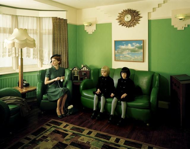 Lottie Davies, 'Viola as Twins', 2009, Cynthia Corbett Gallery