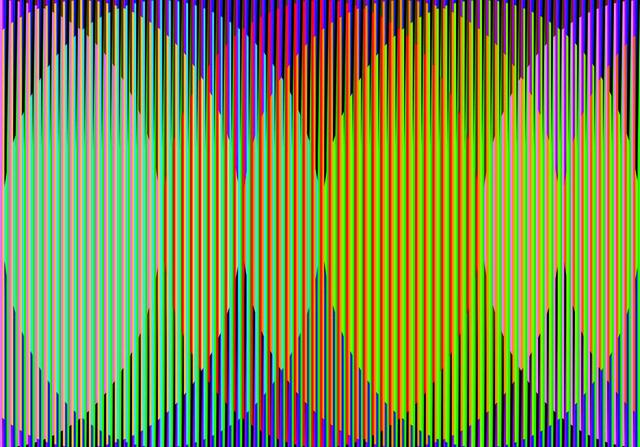 , 'Gráfica Color Aditivo Maria Ele,' 2011, Marion Gallery