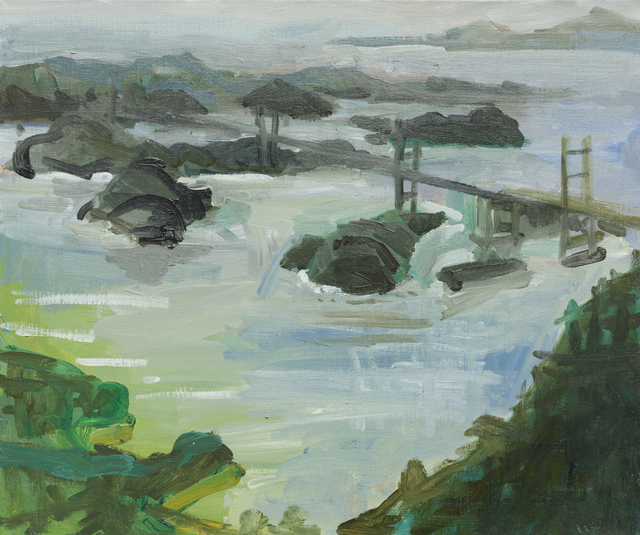 , 'Honshu-Shikoku Bridge II,' 2017, Galería Arteconsult