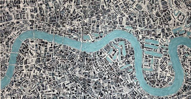 , 'Sulphur Thames,' 2016, Rebecca Hossack Art Gallery