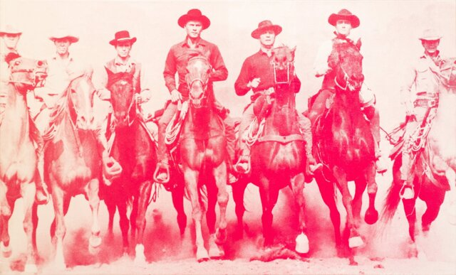 Russell Young, 'Magnificent Seven', 2007, Print, Screen Print on canvas, Manolis Projects