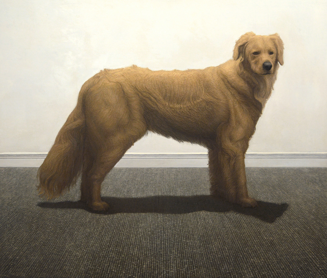 , 'Dog,' 2015, New York Academy of Art