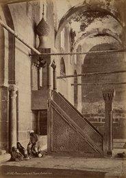 Chaire de précher de la Mosquèe Barkouk, Caire, No. 162
