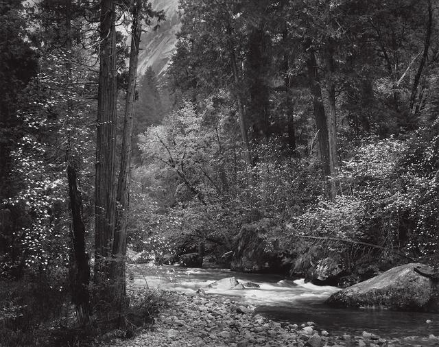 , 'Tenaya Creek, Spring Rain, Yosemite National Park,' 1948, Robert Klein Gallery