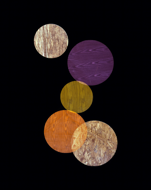 , 'Purple, Orange, Yellow (from Circle Studies),' 2014, LaCa Projects