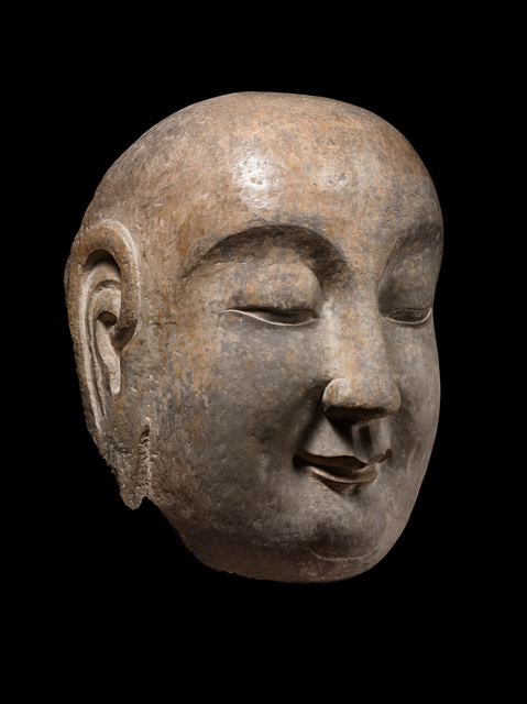 'Head of a Disciple', 6th century, Avery Library