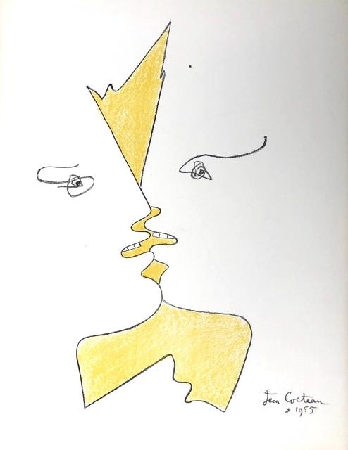 Jean Cocteau, 'The Kiss', 1955, Denis Bloch Fine Art