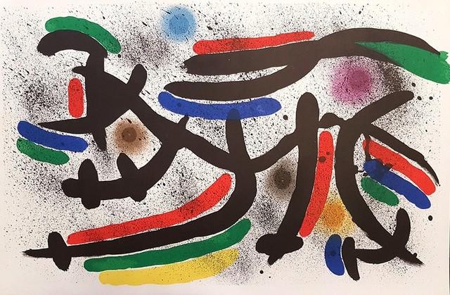 Joan Miró, 'Mirò Lithographe I - Plate IX', 1972, Wallector