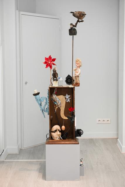 , 'La boîte dans l'oreille d'oiseau,' 2017, Galerie Liusa Wang