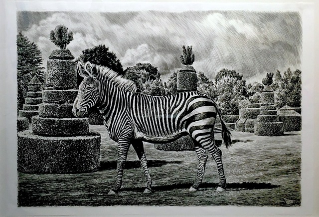 , 'Zebra,' 2015, Sears-Peyton Gallery