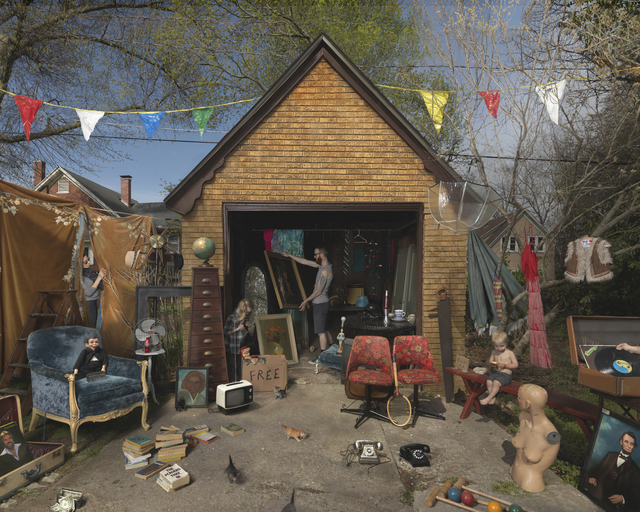 , 'Garage Sale,' 2013, Robert Mann Gallery