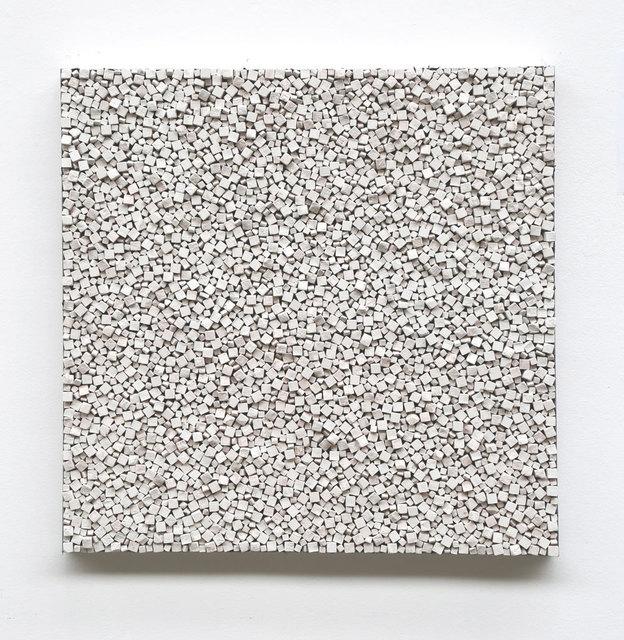 Reiner Seliger, 'Kreidebild weiß', 21st century, Sculpture, Wall sculpture made of white chalk, Galerie Kellermann