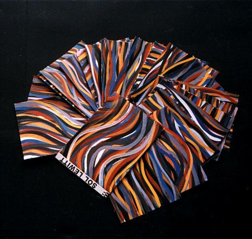 Sol LeWitt, 'Brushstrokes:Horizontal and Vertical', 1996, Artsnap