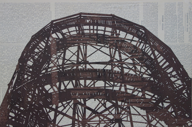 , 'Cyclone Rollercoaster #2,' 2016, Margaret Thatcher Projects
