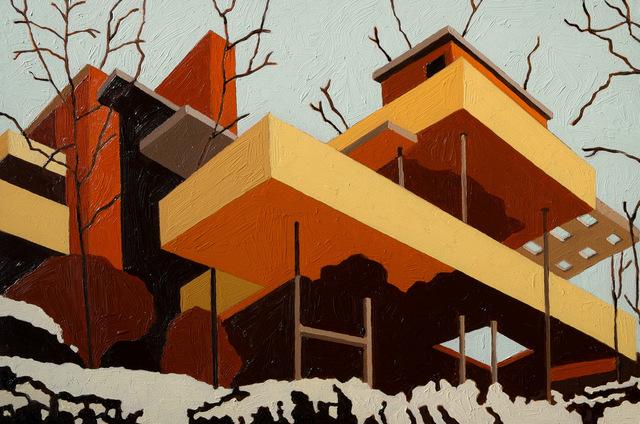 , 'Fallingwater,' 2016, Cynthia Corbett Gallery