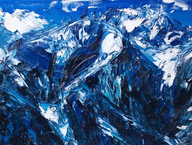 , 'Gulch Face of La Perouse and Aoraki: Mt Cook,' 2017, Rebecca Hossack Art Gallery