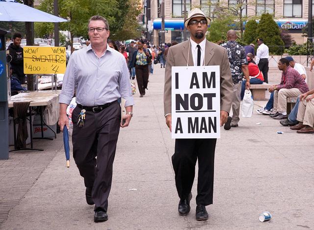 Dread Scott, 'I Am Not A Man', 2009, Bronx Museum of the Arts Benefit Auction