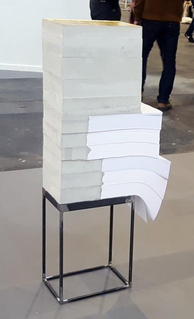 , 'White lies 21,' 2018, Galería Pelaires