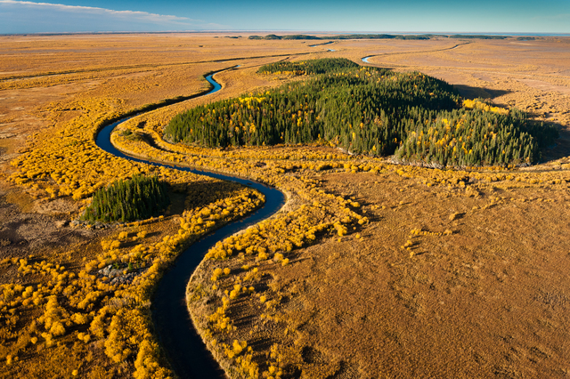 , 'Athabasca Delta and Slave River #1,' 2010, 555 Gallery