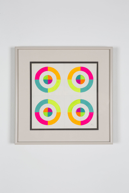 , 'Optical Shapes #6,' 1969, Salon 94