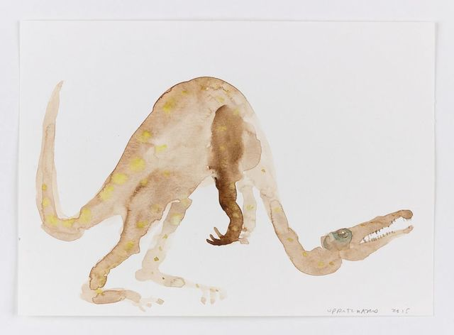 Francis Upritchard, 'Dinosaur with Bad Neck', 2015, Anton Kern Gallery