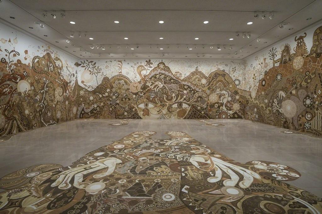 "ASAI Yusuke ""yamatane"" 2014, Installation view of Rice University Art Gallery, Houston ©Yusuke Asai / Courtesy of ANOMALY, Tokyo and Rice University Art Gallery Photo by Nash Baker"