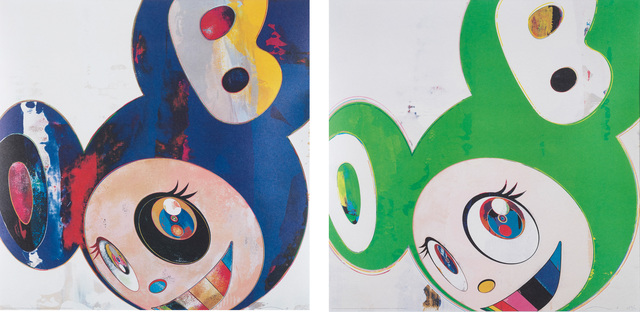 Takashi Murakami, 'And then, and then and then and then and then / Hello; and And then, and then and then and then and then / Green Truth', 2006, Phillips
