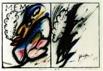 , 'Hamm und Golf (Wahnhall VII),' 1967, Mario Mauroner Contemporary Art Salzburg-Vienna