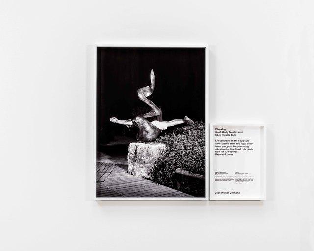 , 'Planking (Kunstturnen (Artistic Gymnastics)),' 2014, Grieder Contemporary