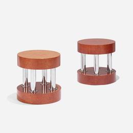 Hyatt occasional tables, pair