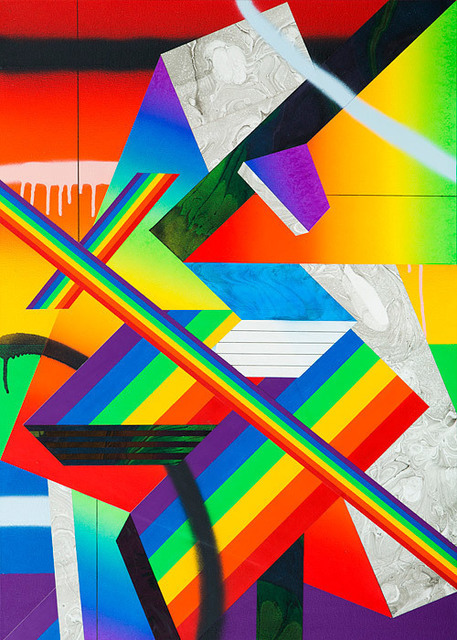 , 'Rainbow Piece III,' 2012, VICTORI+MO CONTEMPORARY