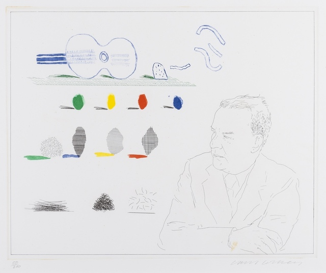 David Hockney, 'The Poet (S.A.C 190)', 1976-77, Forum Auctions