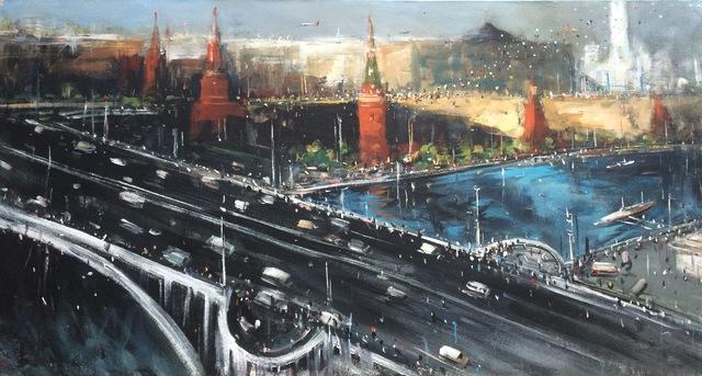 ", '""Kremlin 4"",' 2015, Krokin Gallery"