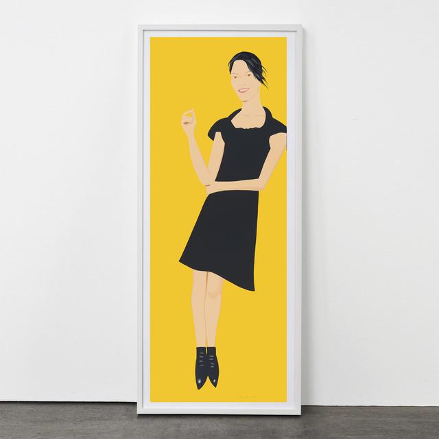 Alex Katz, 'Black Dress (Carmen)', 2015, Weng Contemporary