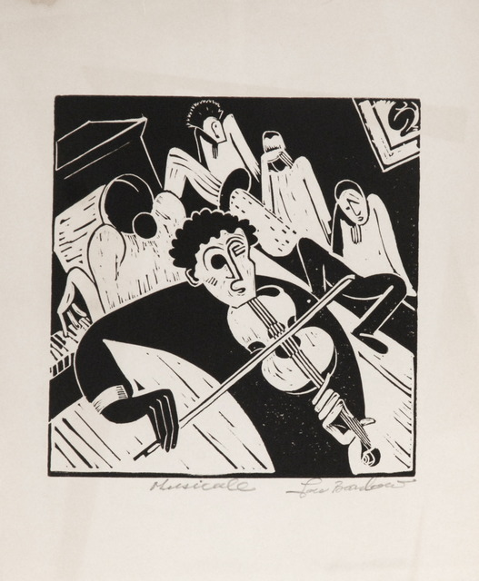 , 'Musicale,' ca. 1935, Sragow Gallery