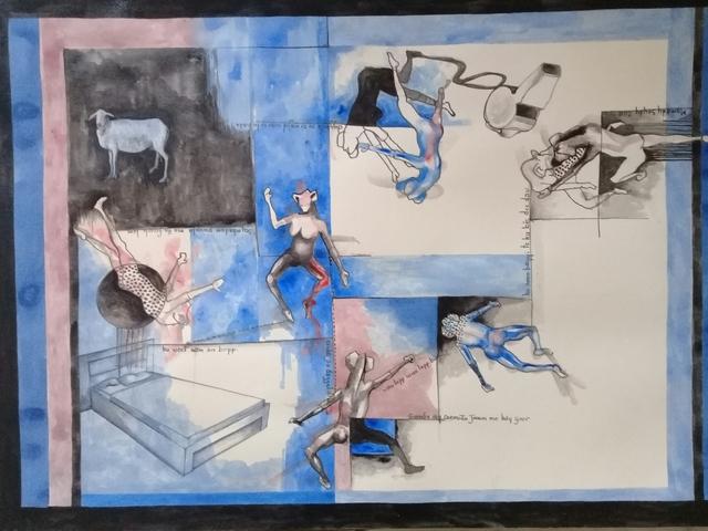 Mamady Seydi, 'Untitled 14', 2018, Galerie Galea