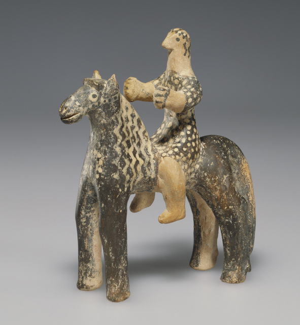 'Horse and Rider', ca. 550 BCE, J. Paul Getty Museum