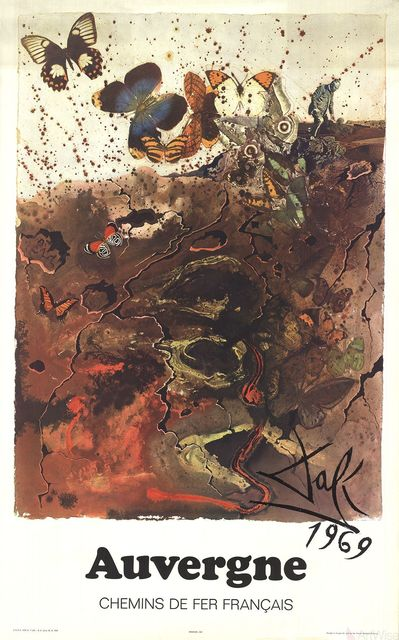 Salvador Dalí, 'Auvergne', 1970, Ephemera or Merchandise, Offset Lithograph, ArtWise