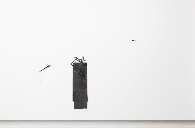 , 'Negligible Pursuit (ionic dark path processing),' 2014, Collicaligreggi