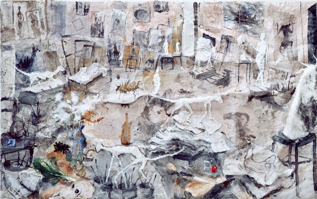 , 'L'Atelier aux Sculptures ,' 1993, Musée Picasso Paris