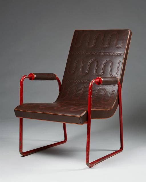 , 'Unique armchair ,' 1930, Modernity