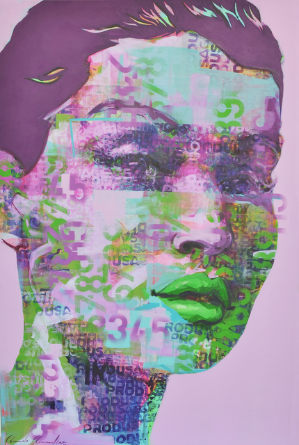 Claude Chandler, ' 'Produsage'', 2018, Art on Avenues