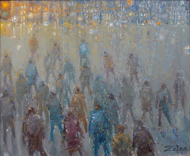 , 'Pedestrians,' 2017, Galerie d'Orsay