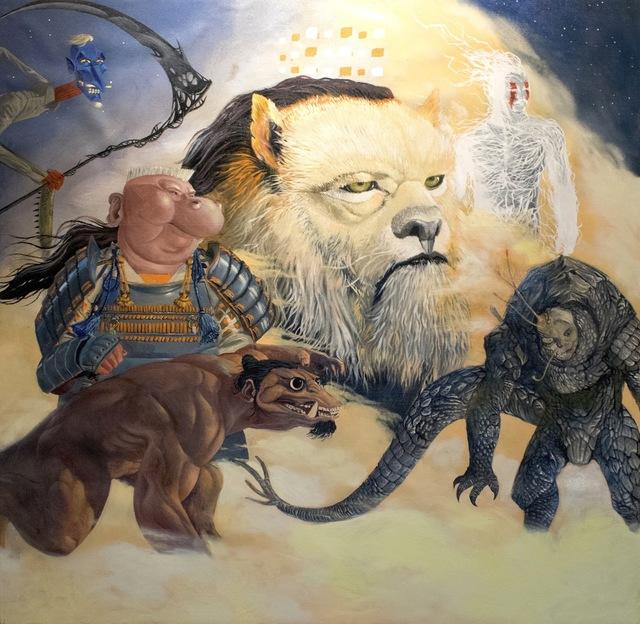 , 'Evolution 2,' 2016, Qube Gallery