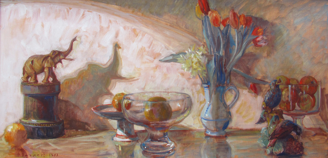 , 'Still Life with Elephants,' 1983, Gallery 78