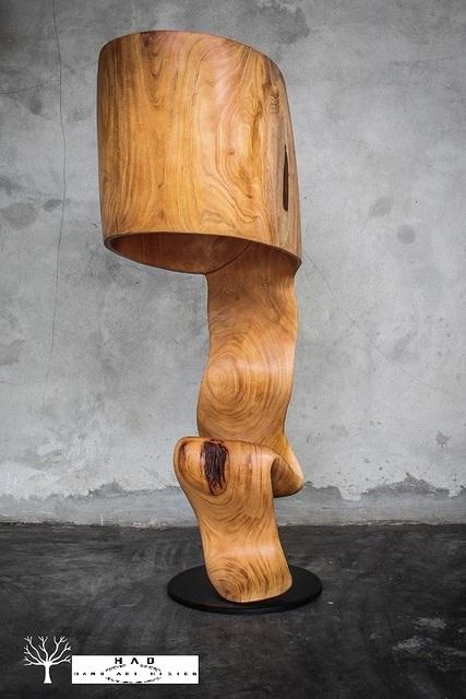 , 'Twist Lamp,' 2018, HAD Gallery