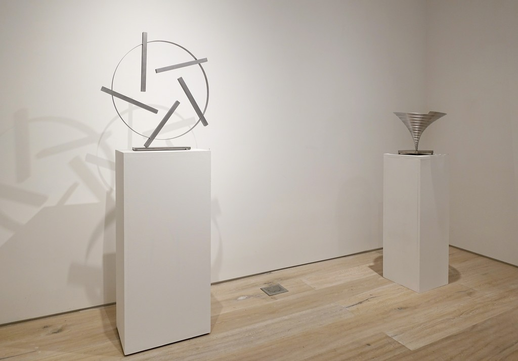 "Installation view: ""Martin Willing: Sculpting Motion"""