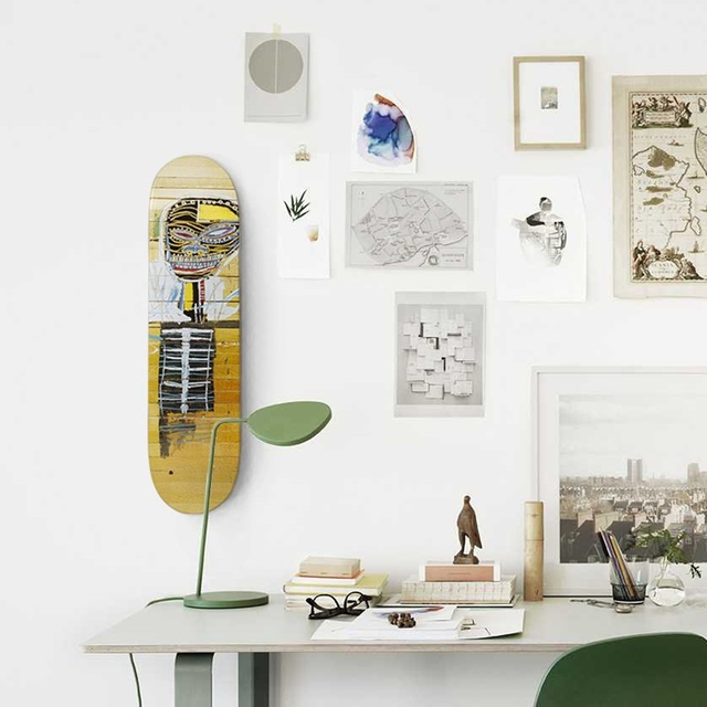 , 'Gold Griot Skateboard Deck (brand new with mounting hinges),' ca. 2014, Alpha 137 Gallery