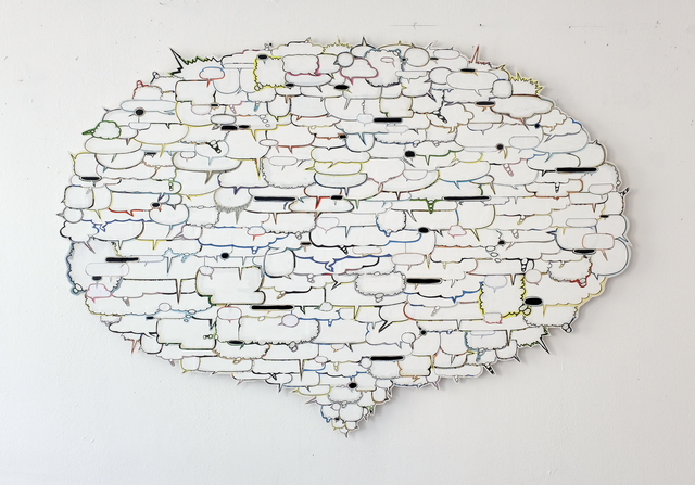 Axel Lieber, 'Big White Bubble', 2018, Taubert Contemporary